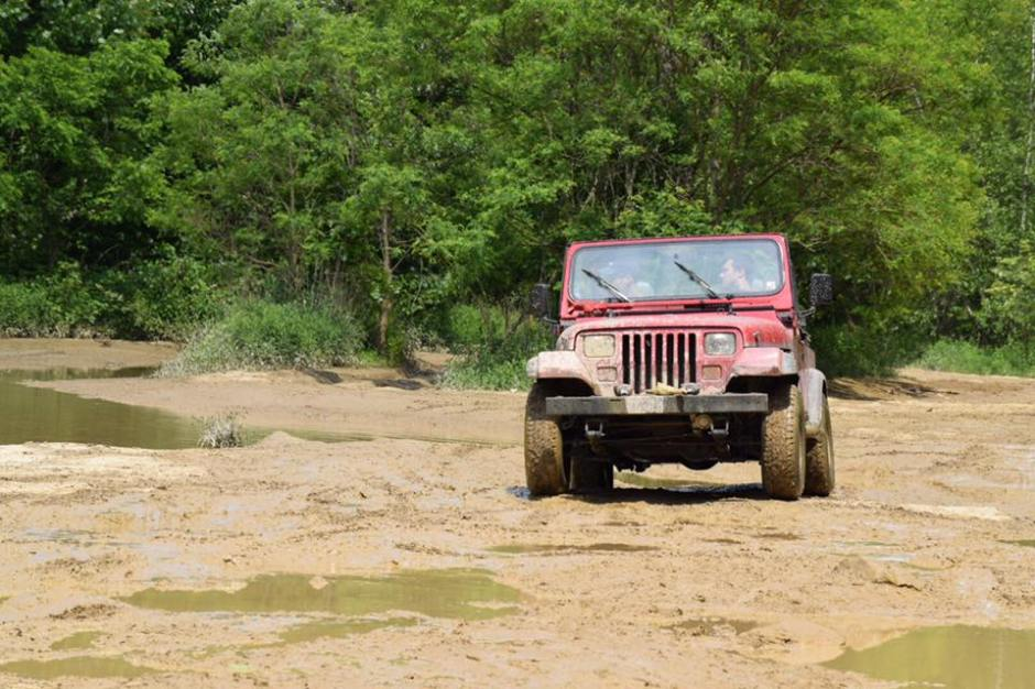 Jeeping with steve
